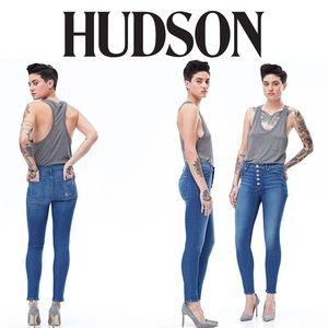 Hudson Ciara High Rise Crop Super Skinny Jean